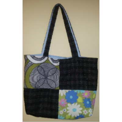 Handbag in woolen